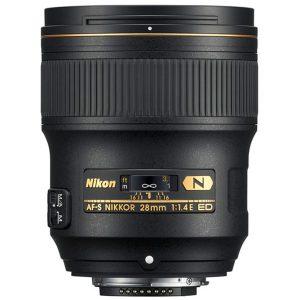 لنز Nikon 28 f/1.4E
