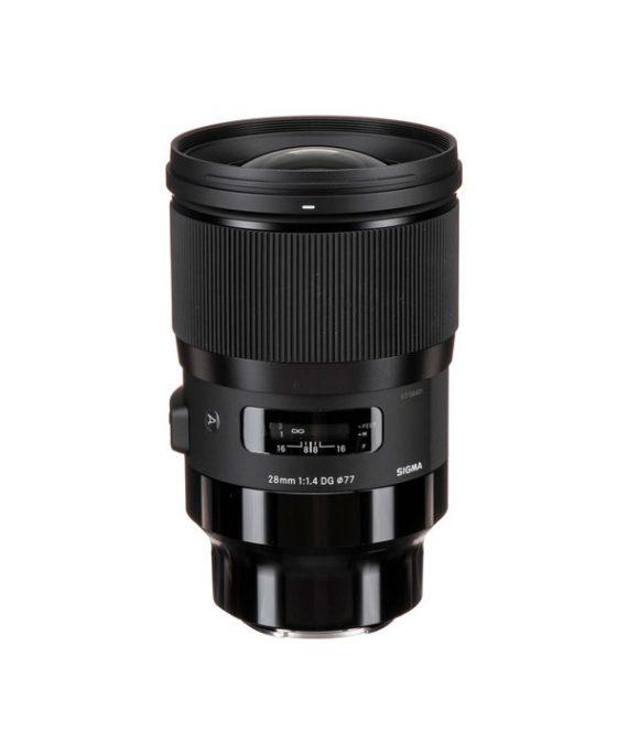 لنز Sigma 28 f/1.4 Art-Sony
