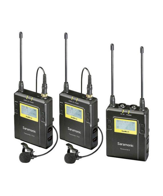 میکروفون Saramonic UwMic9 Kit2