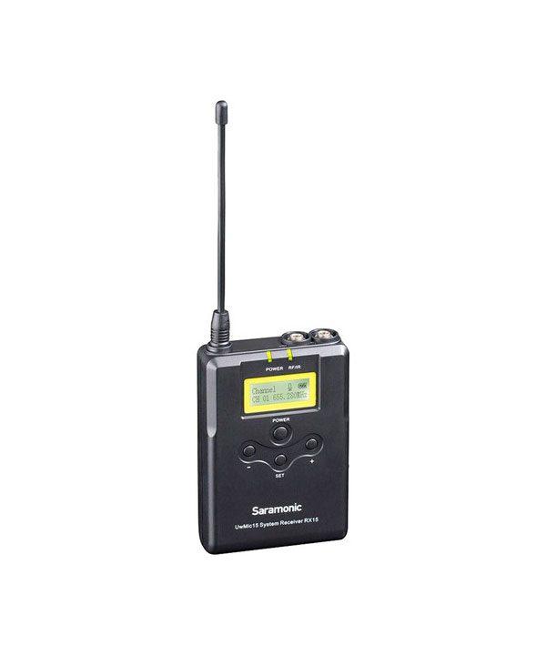 میکروفون سارامونیک UWMIC15A SR-XLR15 + RX15