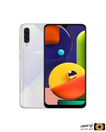گوشی سامسونگ Galaxy A50s ظرفیت 128 گیگابایت سفید