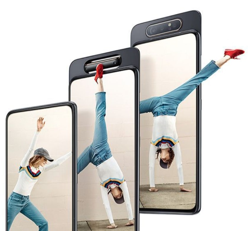 گوشی سامسونگ Galaxy A80 ظرفیت 128 گیگابایت مشکی