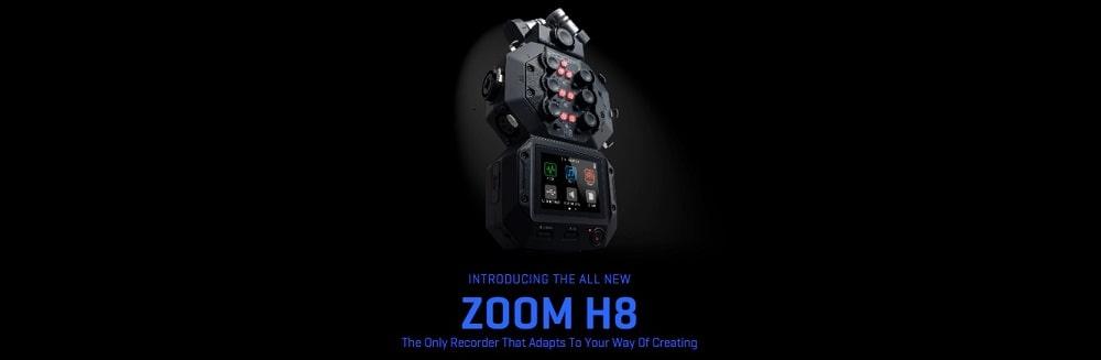 رکوردر ZOOM H8