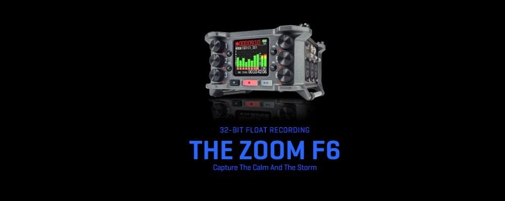 رکوردر حرفه ای ZOOM F6