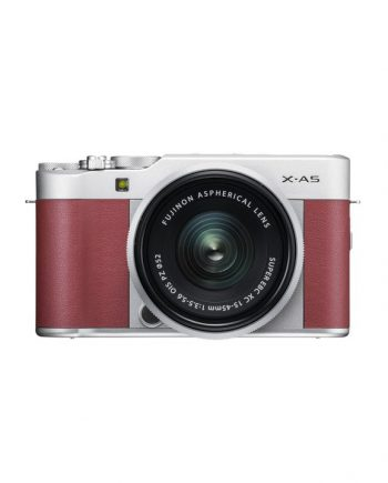 دوربین فوجی X-A5 با لنز 45-15 صورتی