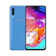 گوشی سامسونگ Galaxy A70 ظرفیت 128 گیگابایت آبی