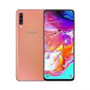 گوشی سامسونگ Galaxy A70 ظرفیت 128 گیگابایت مرجانی