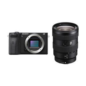 دوربین سونی آلفا a6600 با لنز 55-16