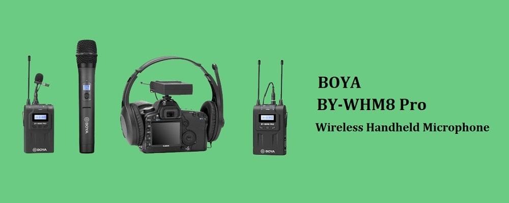 میکروفون Boya BY-WHM8 Pro