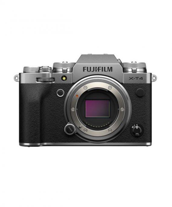 دوربین فوجی X-T4 بدون لنز نقره ای