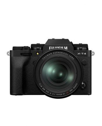 دوربین فوجی X-T4 با لنز 80-16 مشکی