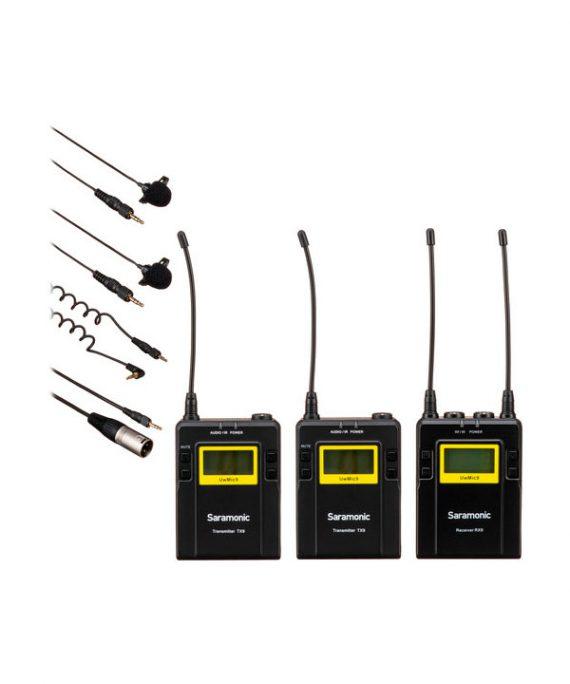 میکروفون Saramonic UWMIC9 RX9 + TX9 + TX9
