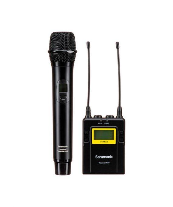 میکروفون Saramonic UWMIC9 RX9 + HU9