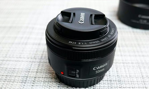 لنز Canon 50 f/1.8 STM