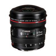 لنز Canon EF 8-15mm f/4L Fisheye USM