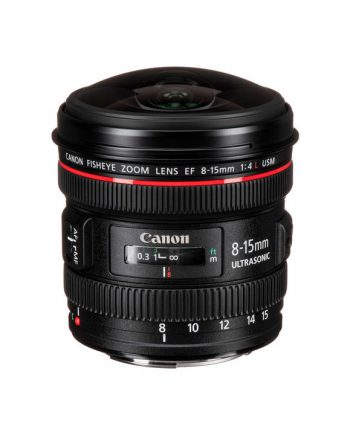 لنز Canon EF 8-15mm f/4L Fisheye USM