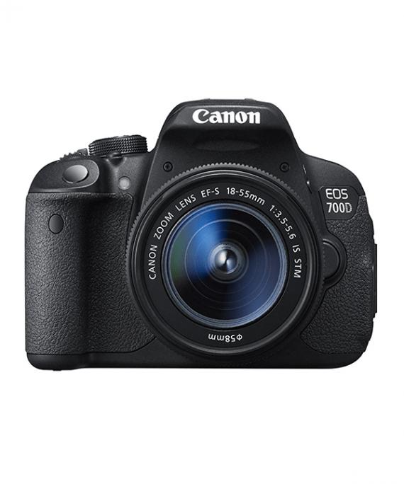 دوربین کانن 700D با لنز 18-55