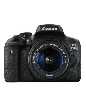 دوربین کانن 750D با لنز 18-55