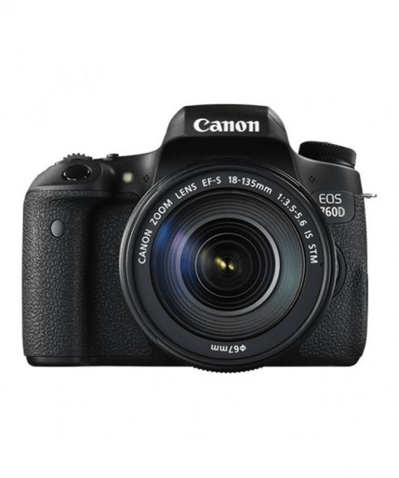دوربین کانن 760D با لنز 135-18