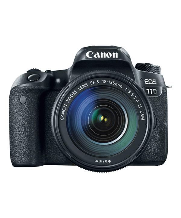 دوربین کانن 77D با لنز 135-18