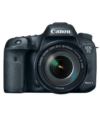 دوربین کانن 7D Mark II با لنز 135-18