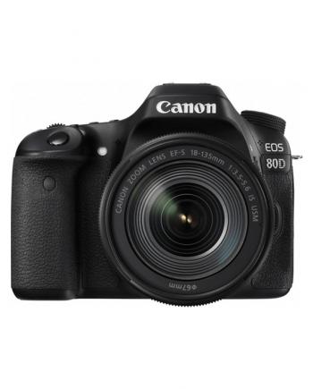 دوربین کانن 80d با لنز 18-135
