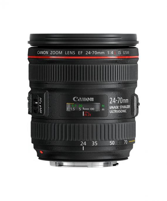 لنز کانن Canon EF 24-70mm f/4L IS USM