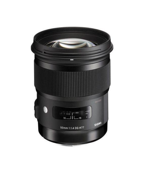 لنز Sigma 50 f/1.4 Art-Canon