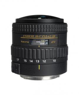 لنز Tokina AT-X 107 DX NH 10-17mm f/3.5-4.5 for Nikon