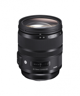 لنز Sigma 24-70mm f/2.8 DG OS HSM Art Lens for Canon EF