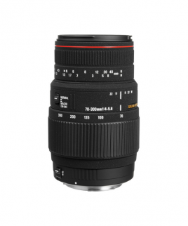 Sigma 70-300mm f/4-5.6 DG Autofocus Lens for Canon F Mount Cameras