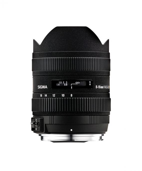لنز Sigma 8-16 f/4.5-Canon