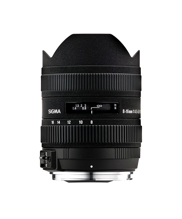 Sigma 8-16mm f/4.5-5.6 DC HSM Ultra-Wide Zoom Lens for Canon EOS SLRs