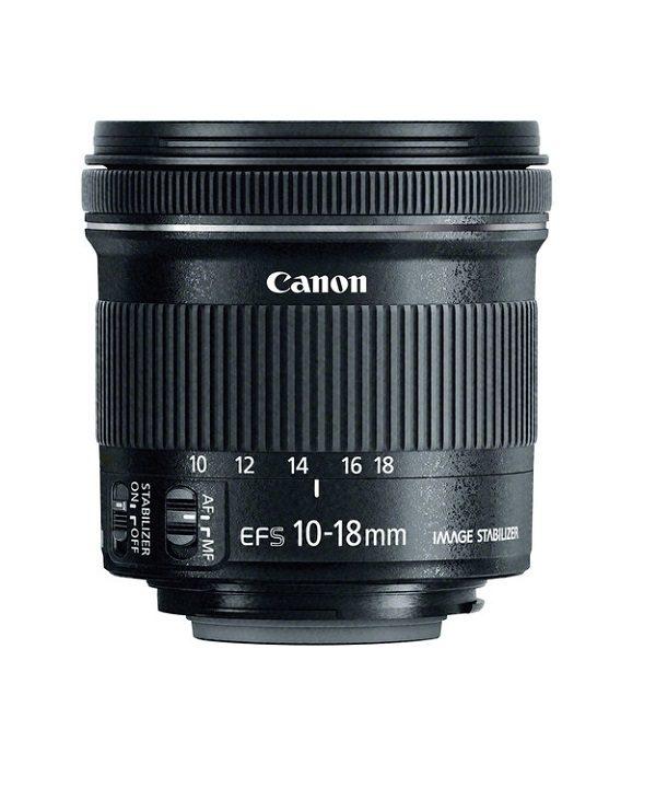 لنز Canon 10-18 f/4.5 IS STM