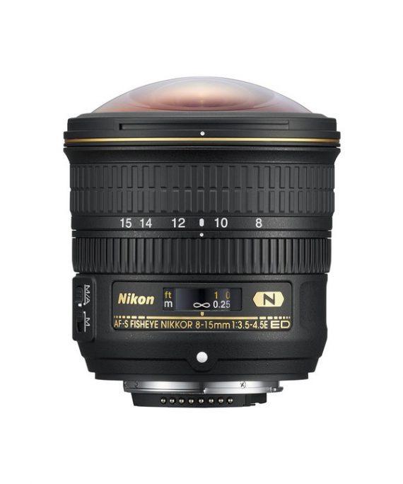 لنز Nikon 8-15 f/3.5E ED