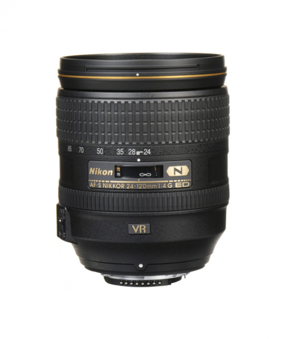 لنز Nikon 24-120 f/4GED VR