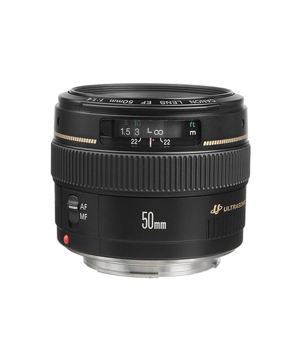 لنز Canon 50 f/1.4 USM