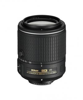 لنز Nikon AF-S DX NIKKOR 55-200mm f/4-5.6G ED VR II