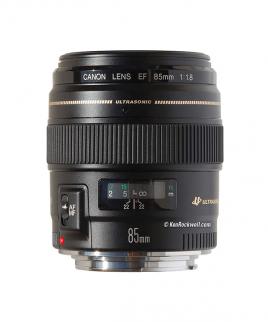 لنز کانن CANON EF 85mm f/1.8 USM