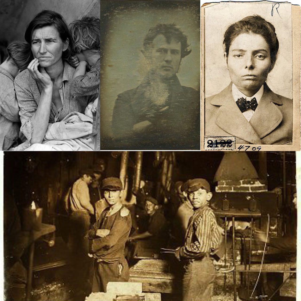 تاریخچه ی عکاسی پرتره