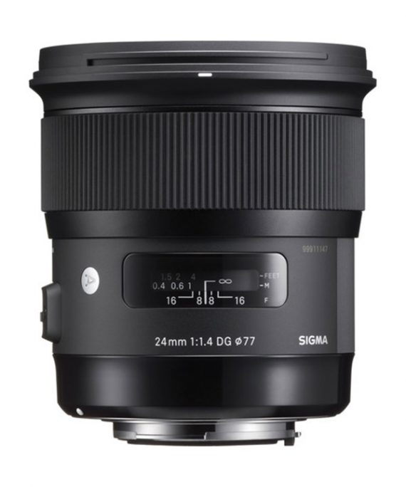 لنز Sigma 24mm f/1.4 DG HSM Art Lens for NIKON EF