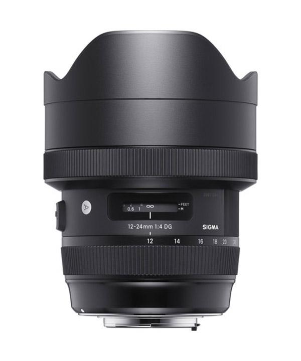 لنز Sigma 12-24 f/4 Art-Canon
