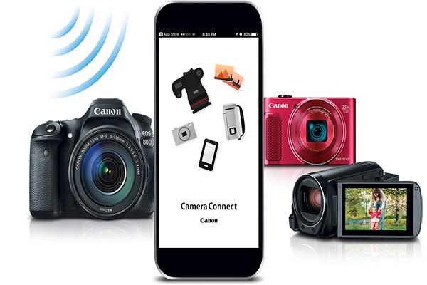 معرفی امکانات wifi در دوربین Canon 80D دوبله ی فارسی