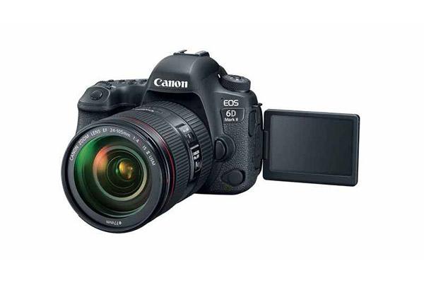 جعبه گشایی Canon 6D Mark II