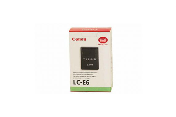 شارژر باتری کانن LC-E6 battery charger