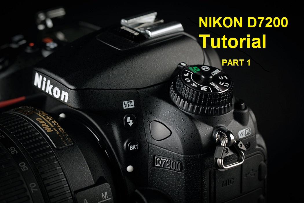 آموزش منوی دوربین نیکون NIKON D7200 بخش اول