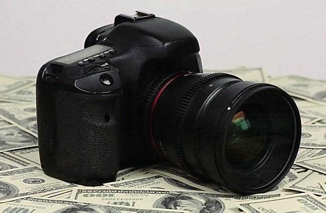 قیمت دوربین عکاسی حرفه ای