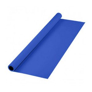 رول فون پارچه ای 3x5 آبی
