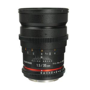 لنز Samyang 35 T1.5-Nikon