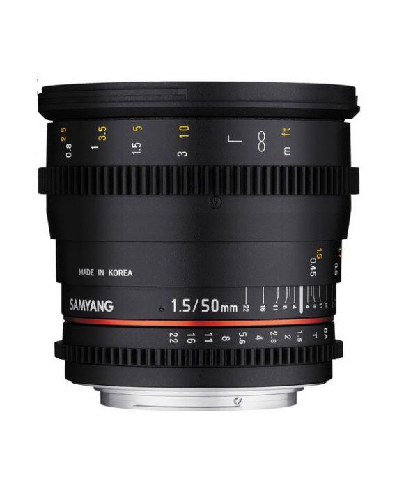لنز Samyang 50 T1.5-Sony